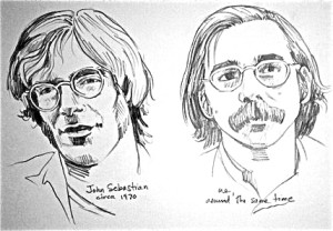 John Sebastian, circa 1970. Me, around the same time.